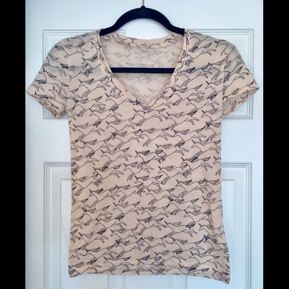 Urban Outfitters Tops - BDG/Urban Outfitters V-Neck Unicorn Tee